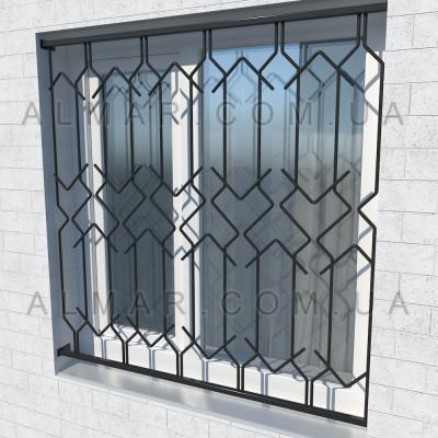Решетка на окно 1107