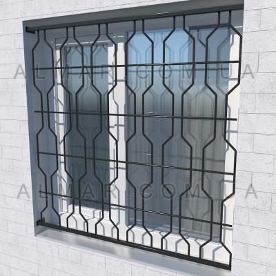 Решетка на окно 1109